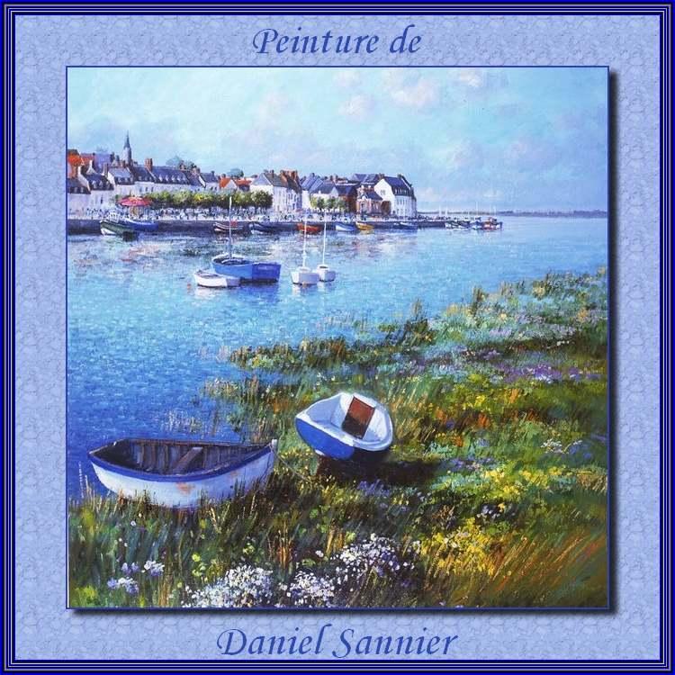 Peintures de : Daniel Sannier