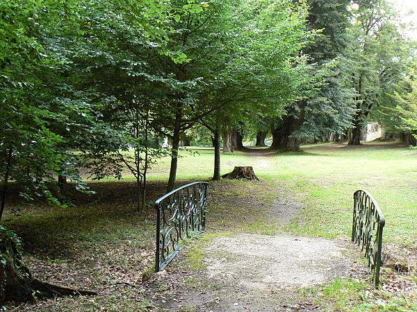Dans le parc de l'abbaye 4