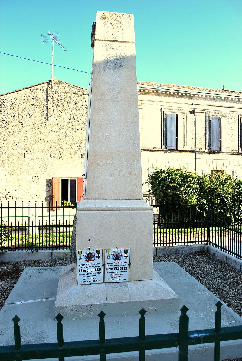 Sainte-Ramée Monument aux morts b.JPG