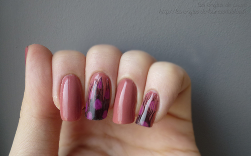 J'ai testé la feather manucure // Nail Art plume