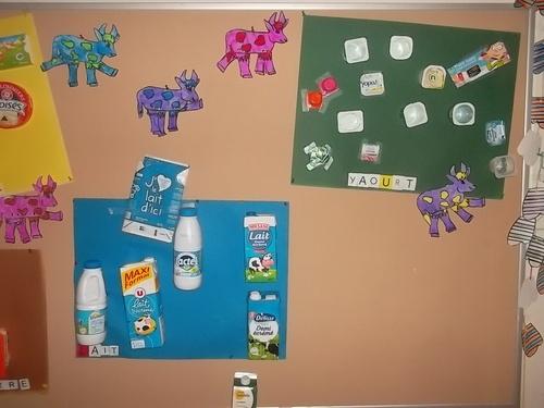 Les produits laitiers à l'école