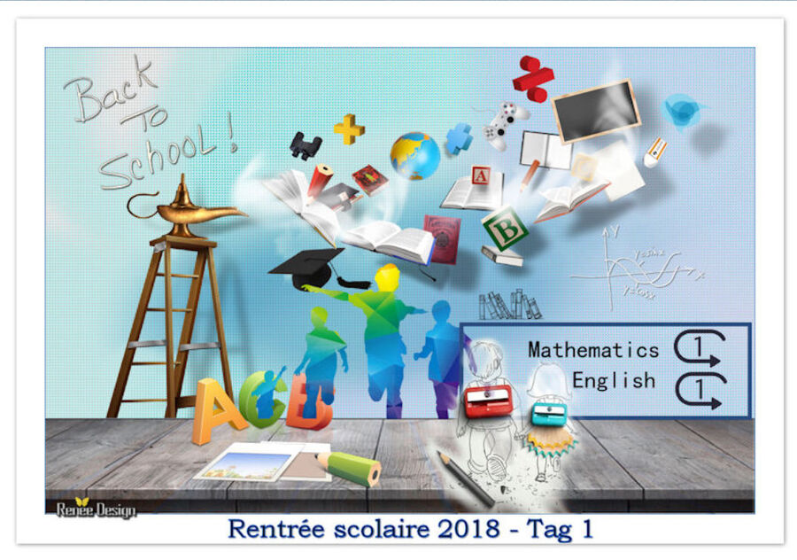Rentrée scolaire 2018 TAG 1