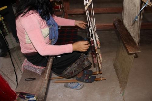Près de Louang Prabang, le village de Ban Xang Thong