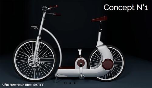Vélo électrique sans batterie