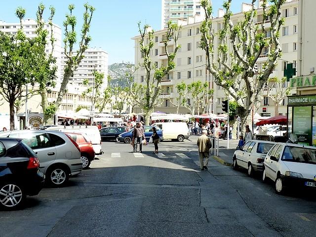 Toulon le maché du Mourillon 1 Marc de Metz 2012