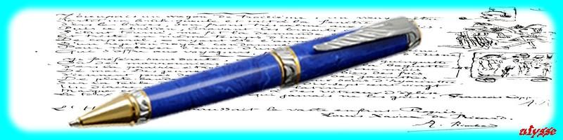 Le stylo a bille