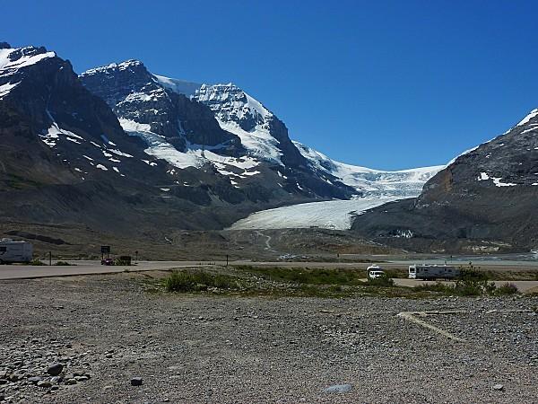 Jour 19 route des Glaciers Champ de Glace Columbia 3