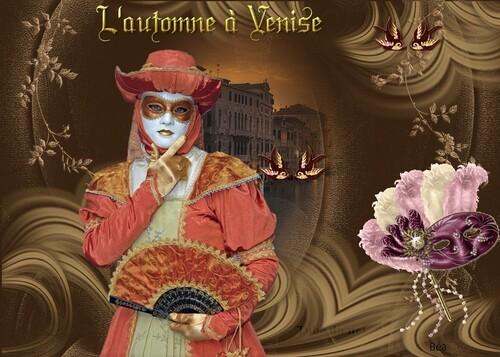 défi de Beauty ''  L'Automne à Venise''