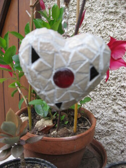 Mosaique pour le jardin