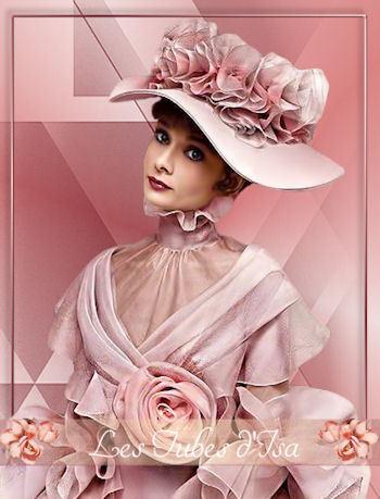 FAC0065 - Tube femme chapeau