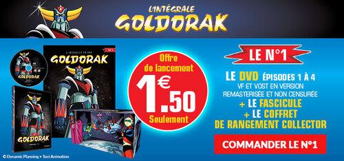 N° 1 Goldorak l'intégrale en DVD - Lancement