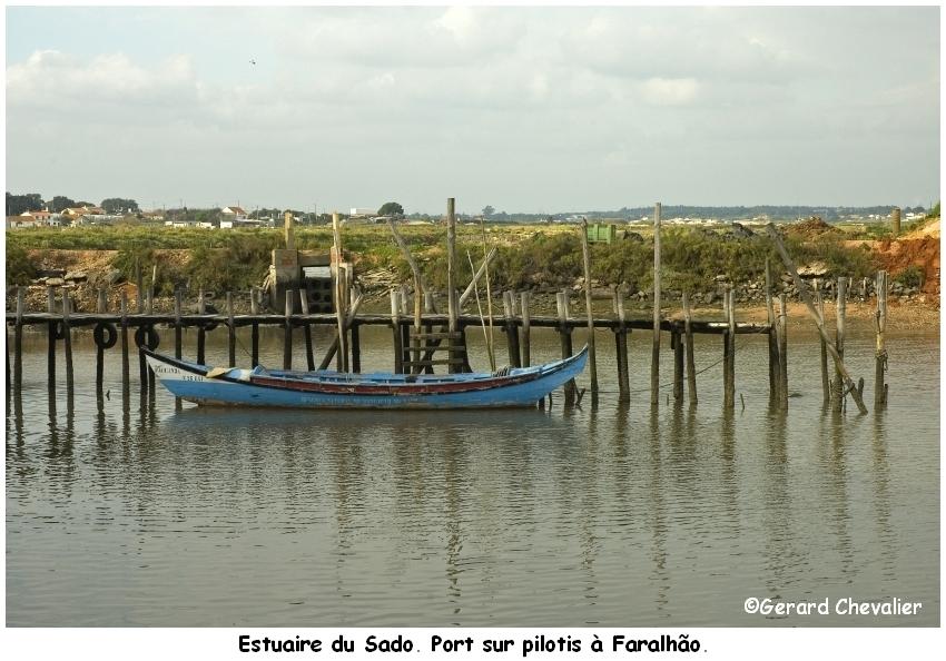 Estuaire du Sado. (Portugal)