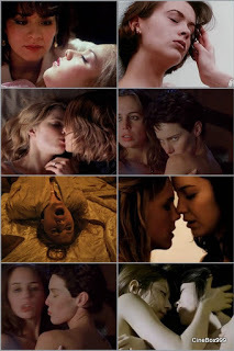 Erotic clips from films. Part 51. Lesbo.