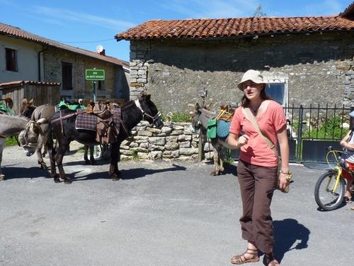 Colporteurs, Roue d'âne