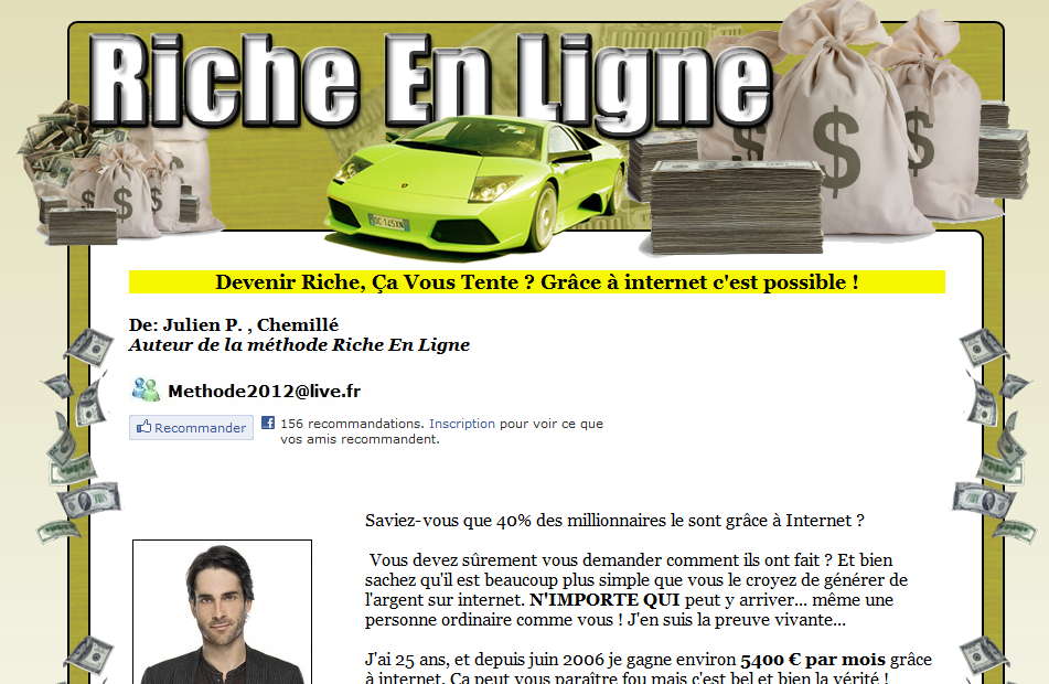 formule2012.com: attention encore une grosse arnaque !