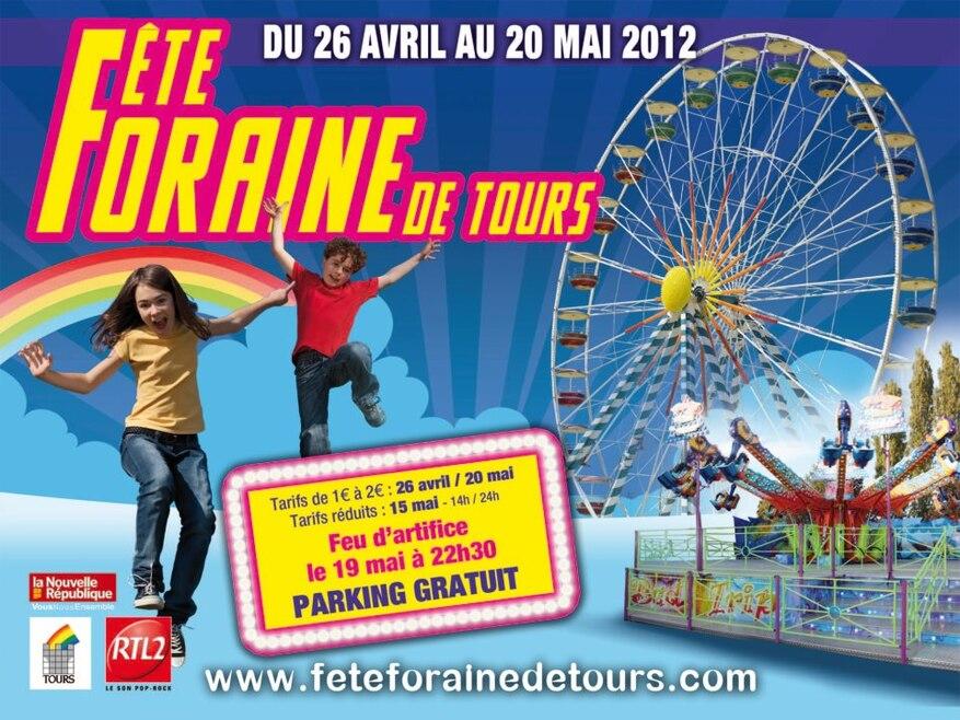 LA FETE FORAINE DE TOURS EST ARRIVEE