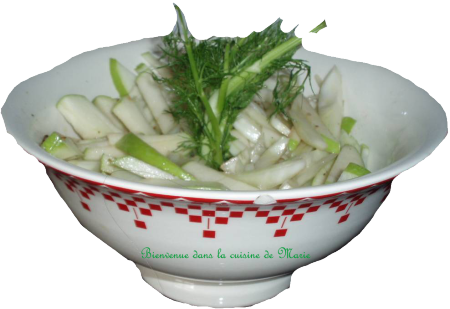 SALADE POMMES FENOUIL