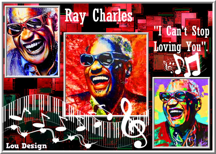 """Ray Charles""""I Can't Stop Loving You"""""""