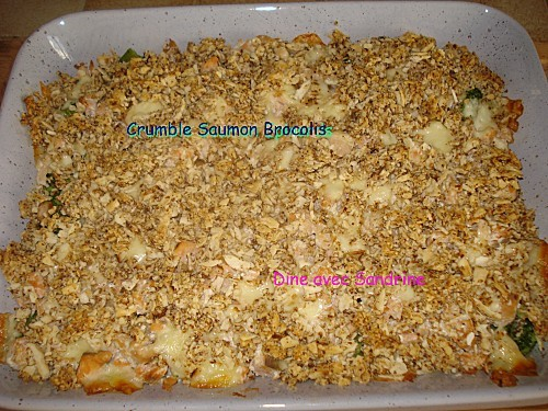 Crumble Saumon Brocolis 9