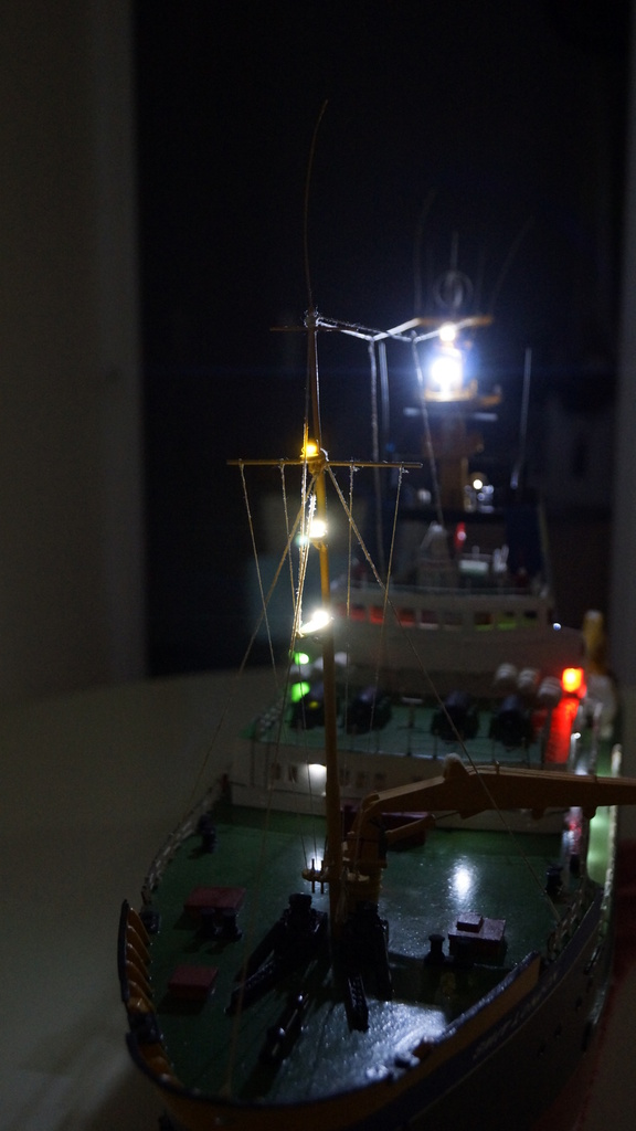Smit London, partie 2 : super-structure et fin du bateau