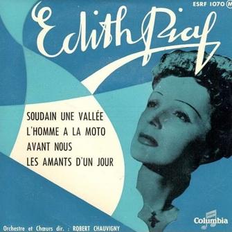 Edith Piaf, 1956