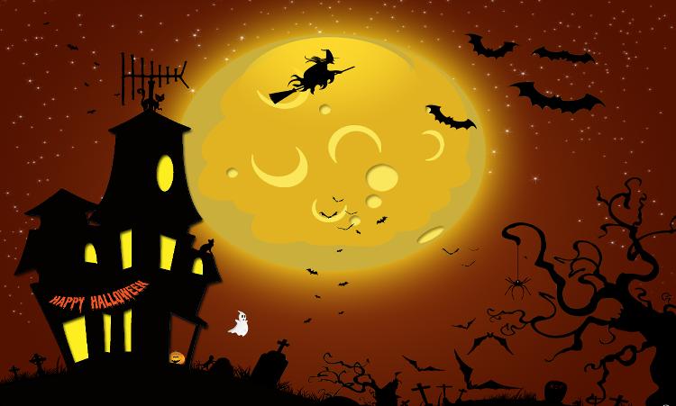 Fonds Pour Créations Halloween  Série 1  ♥