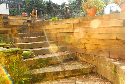 L' escalier...
