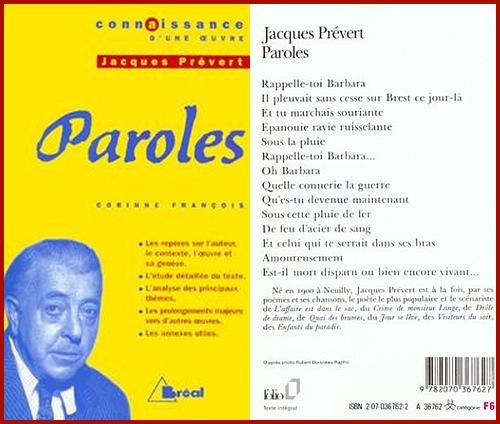 11 avril 19 77  : Décès de Jacques Prévert