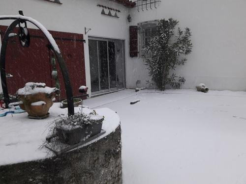 Suite des photos de neige 2018