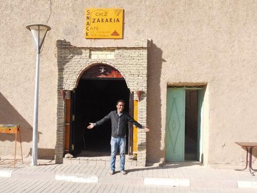 Chez Zakaria notre serveur