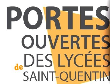 Portes Ouvertes des Lycées de Saint-Quentin