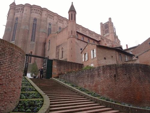 Albi: autour de Zainte Cécile et du Musée Toulouse-Lautrec (photos)