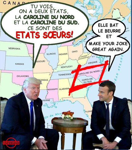 Trump et Macron