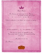 Invitations princesse et chevalier page 3