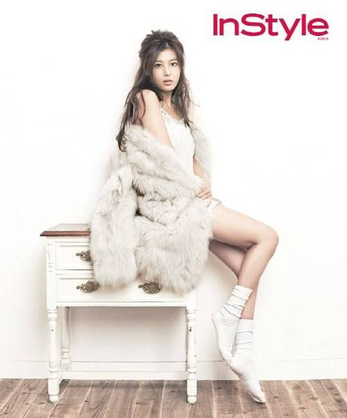 Yubin pour InStyle,