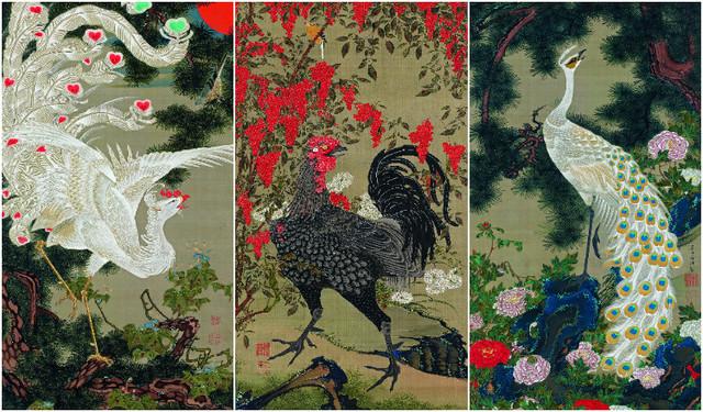La conservation des rouleaux dans des boites explique la grande qualité de conservation des oeuvres de l'artiste.