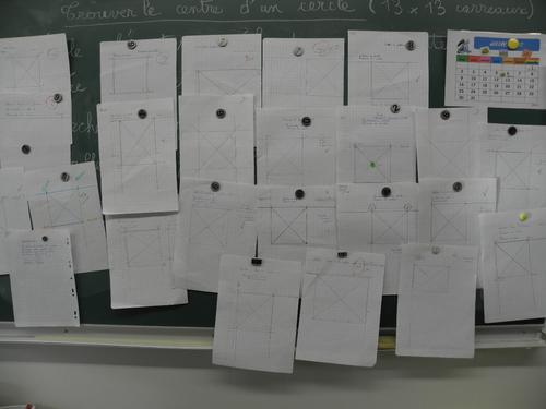 Un peu de géométrie, beaucoup de travail...