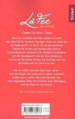 Das Erste Mal - LaFee / back Cover