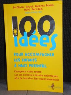 """""""100 idées pour Accompagner les Enfants à Haut Potentiel"""": pourquoi j'aime ce livre?"""