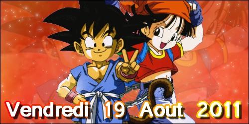 Signature Pan et Goku DBGT