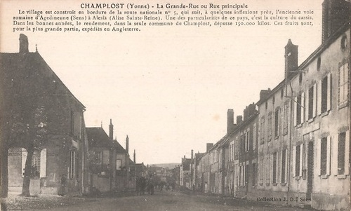Famille Ragot Champlost (89)