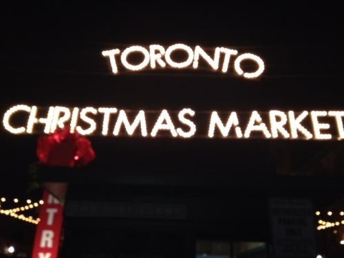 Marché de noël à Toronto