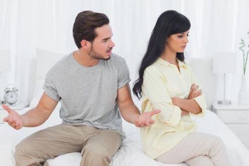 Une relation avec un homme macho