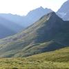 Depuis Peyrenère, le pic Mourgat