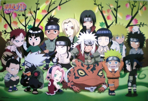 Naruto et Naruto shippuden (multi-personnages)