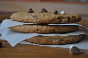 Cookies à la vergeoise et aux pépites de chocolat au lait