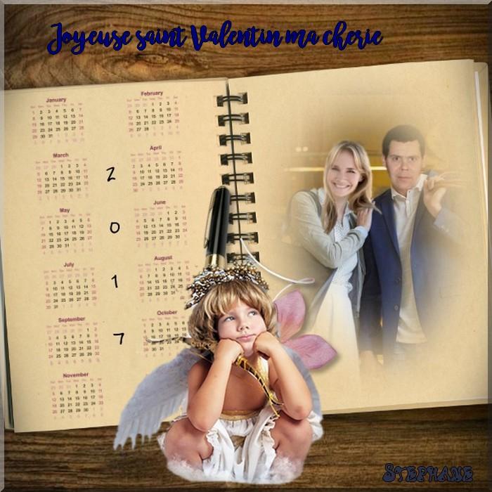 Joyeuses saint Valentin ma chérie Maman ,Christiane mes amies !!