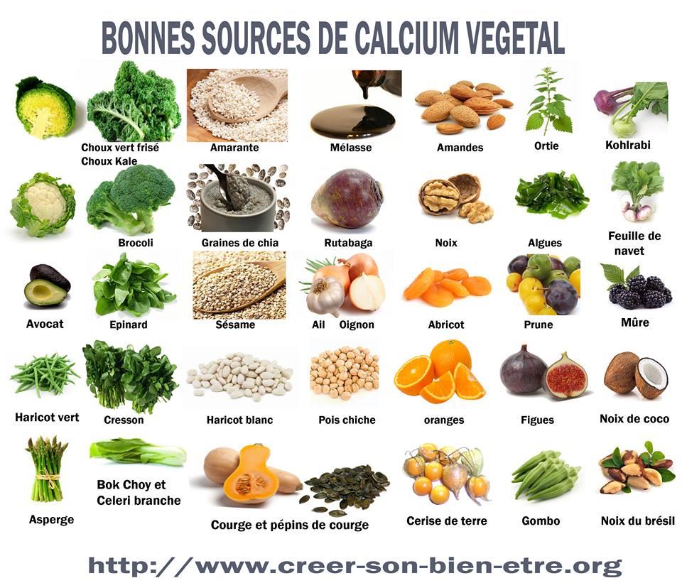Résultats de recherche d'images pour «source végétale de calcium»