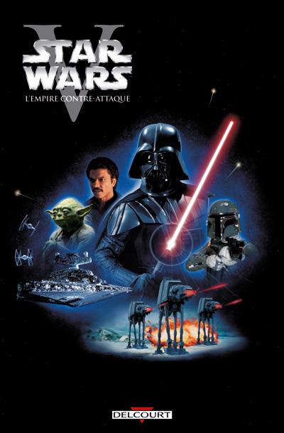 Star Wars empire contre attaque