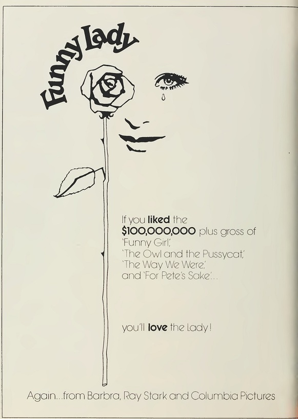 FUNNY LADY BOX OFFICE 1975